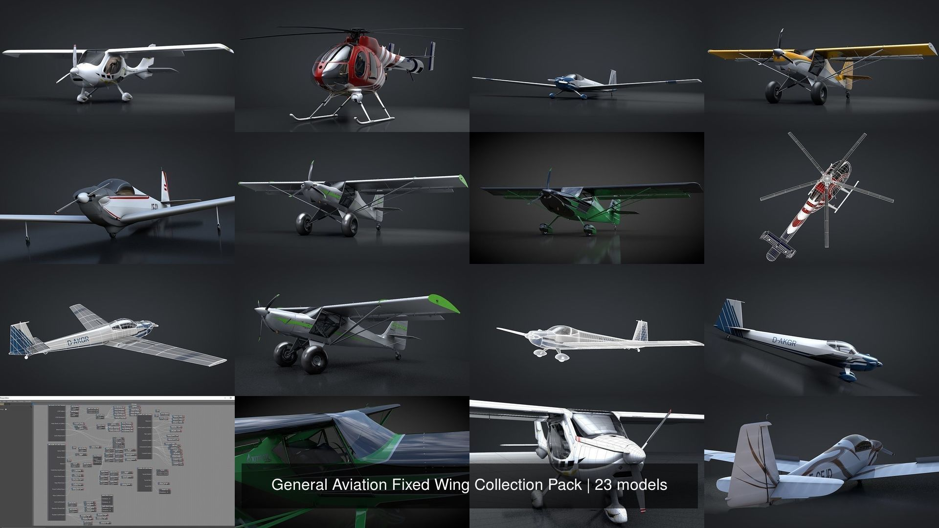 General Aviation Fixed Wing Collection Pack