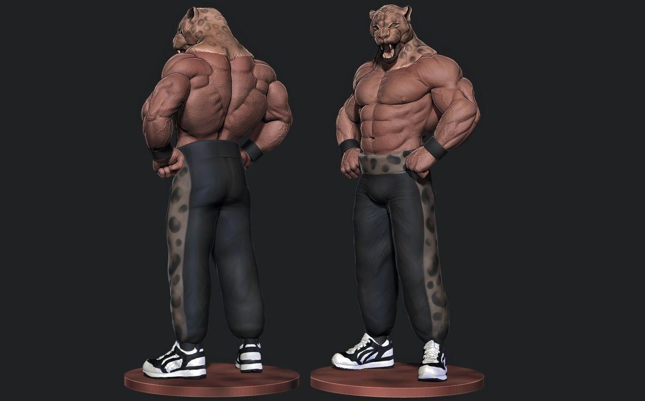 tekken 3 king playstation   3D Print Model