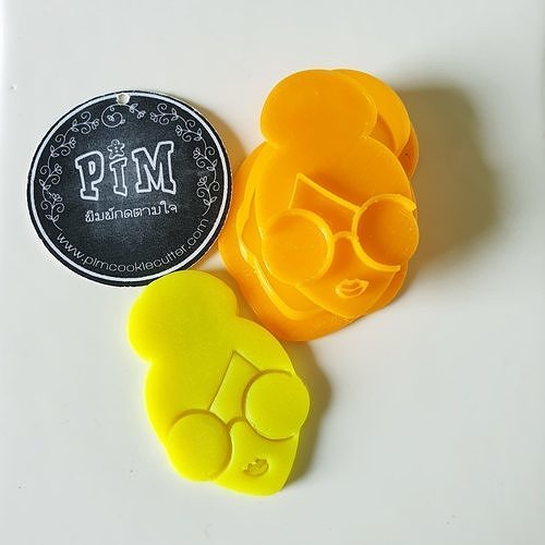 Lady Smart Cookie Cutter and stamp