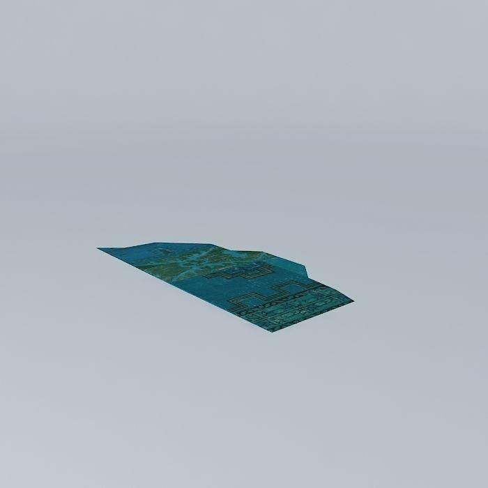 IZMIR blue carpet houses the world
