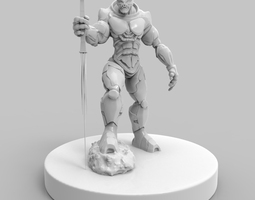 KrolK The Alien SpaceMarine 3D Model