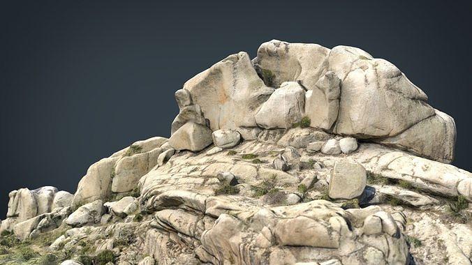 mountain rocks 7 3d model max obj mtl fbx ma mb blend 1