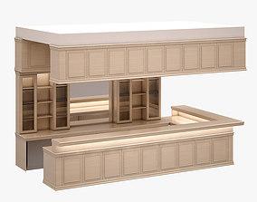 3D asset Bar Set 004