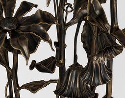 Bronze bouquet 3D model