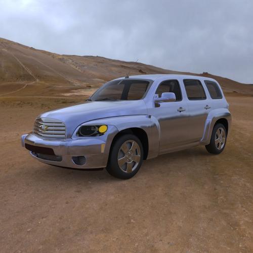Chevrolet Hhr 2006 3d Model Obj Cgtrader Com