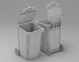 Dumpster 1 3D Model