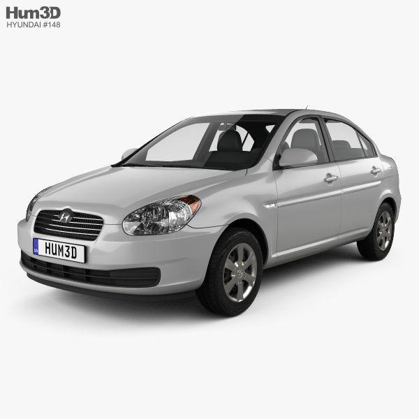 Hyundai Accent MC sedan 2006