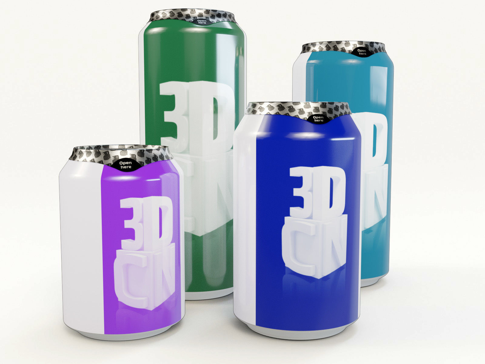 Beverage cans 250ml 330ml 440ml 500ml with hygiene foil cover