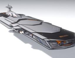 3D model ISA Heavy Cruiser