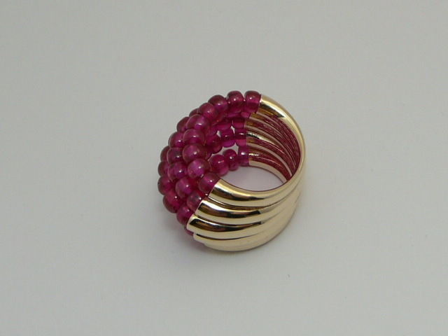 ring with beads