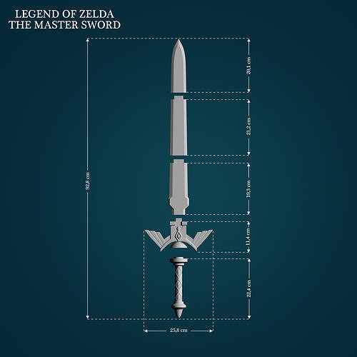Master Sword from Legend Of Zelda
