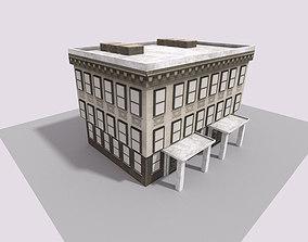 house town 3D asset