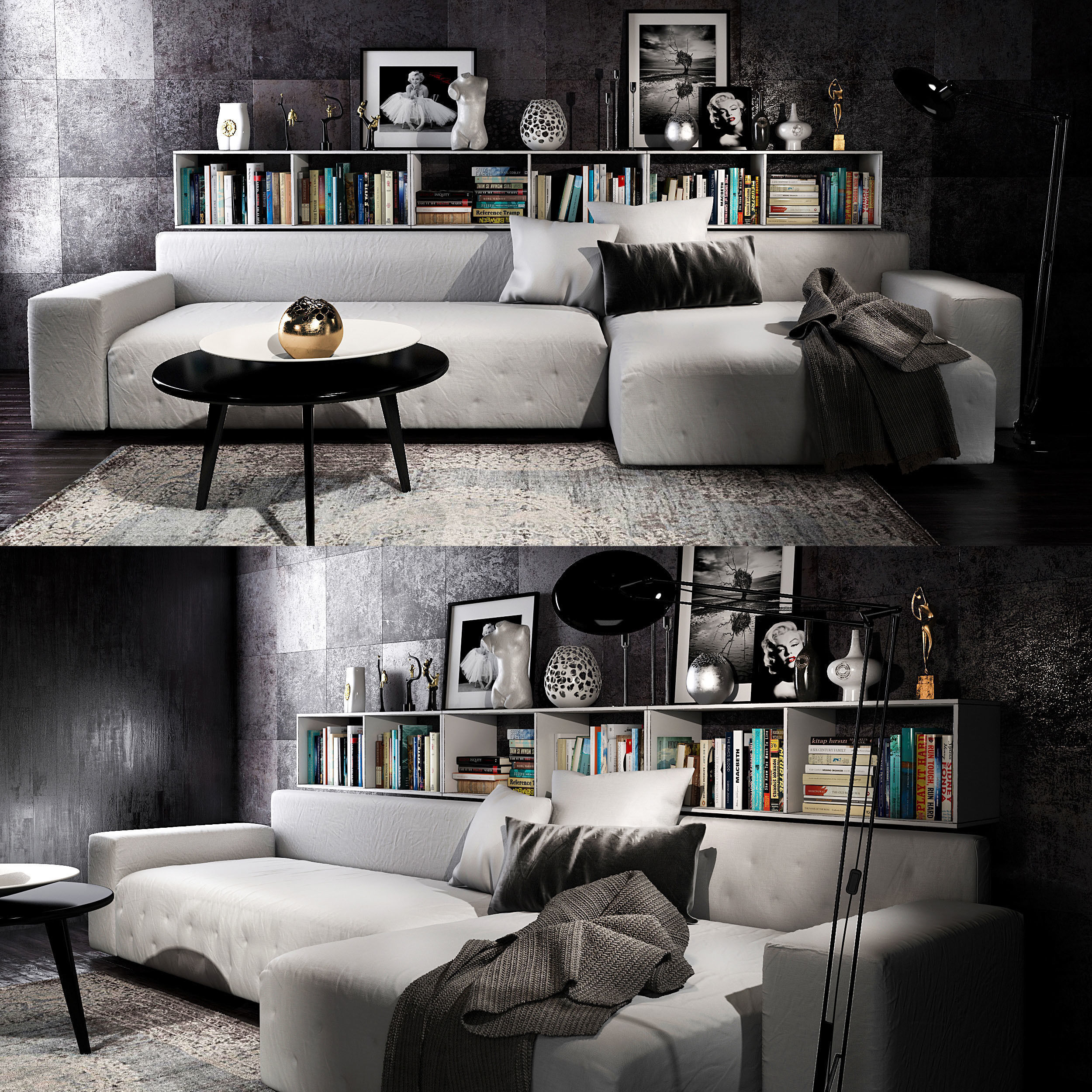 Twils livingroom set | 3D model