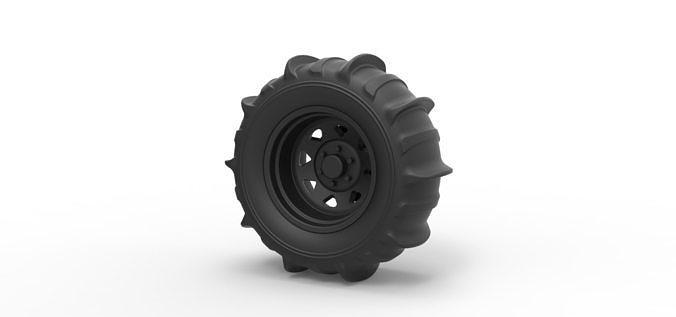 Diecast Wheel for sand