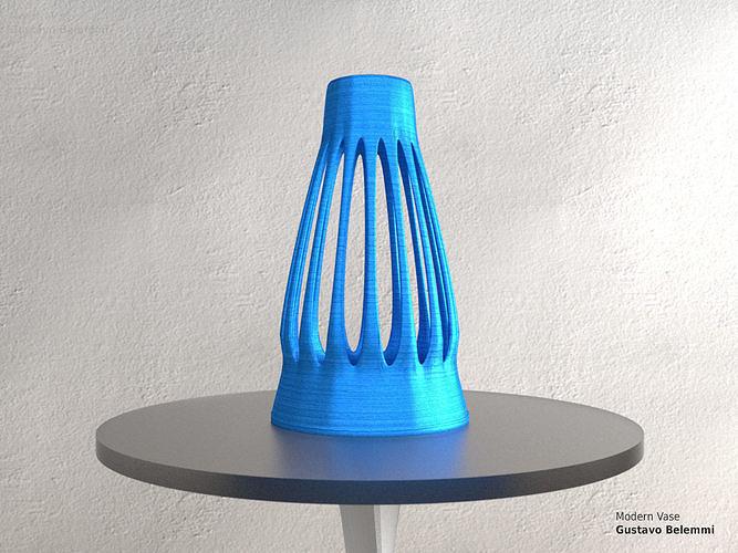 Modern Vase Fine Mouth
