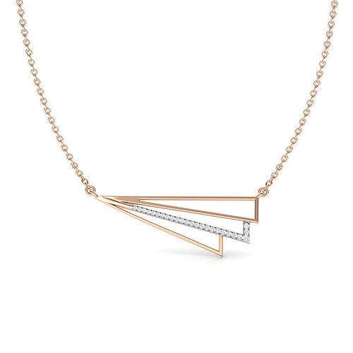 Sidefly Geometric Necklace