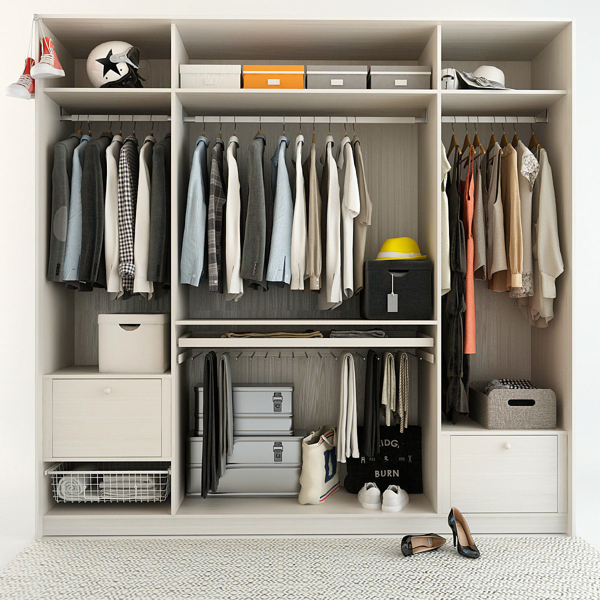 Wardrobe With Things 2