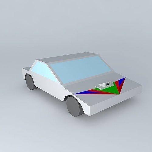 tuned car 3d model max obj 3ds fbx stl dae 1