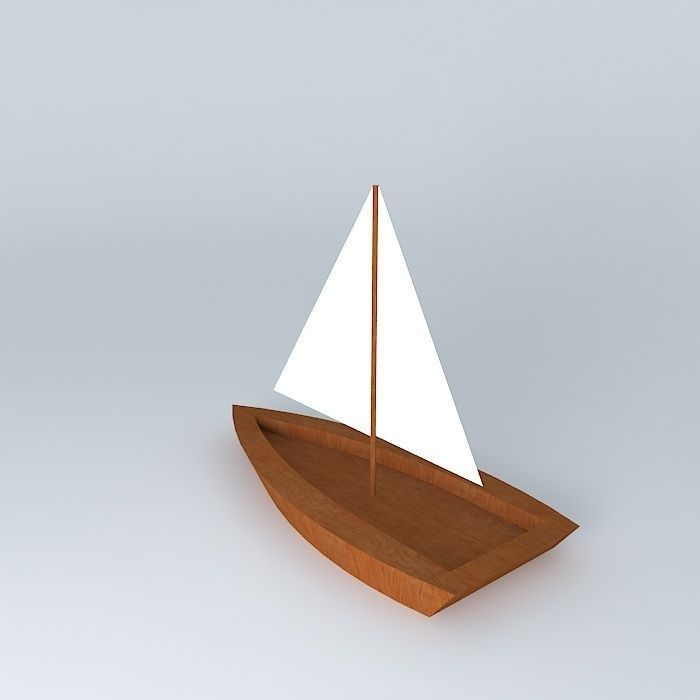 sail 3D model Sailboat | CGTrader