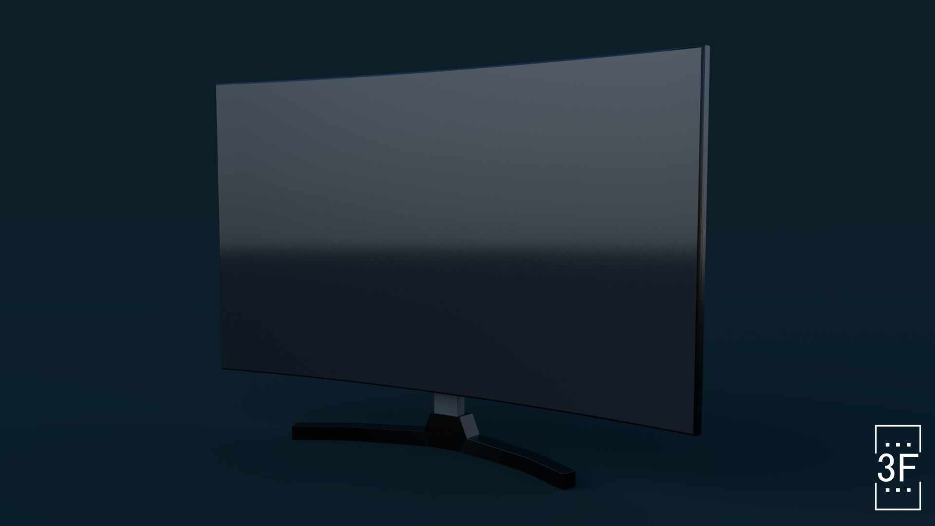 Tv  electronic low poly