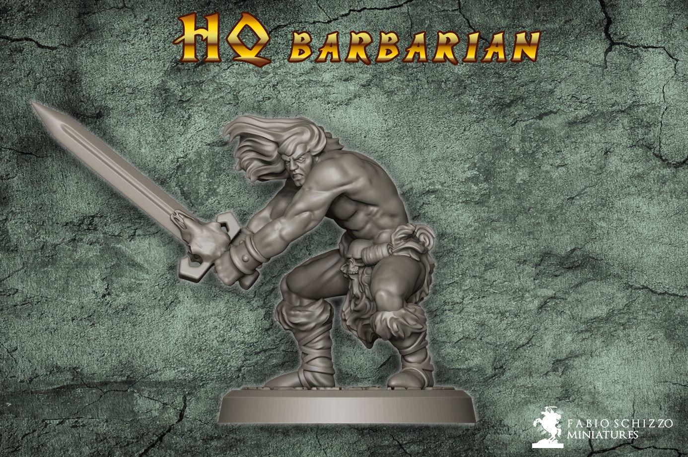 Classic Barbarian