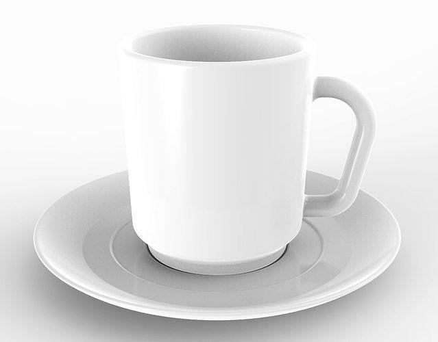 mug 03 3d model obj mtl 3ds 3dm stp 1