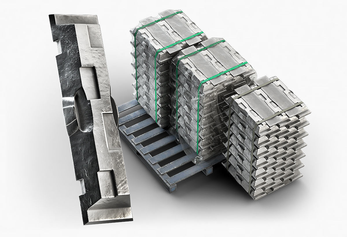 Aluminium Zinc Nickel Silver Titan Steel ingot 3