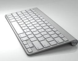 Mac Keyboard maya 3D model