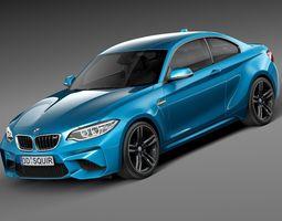 BMW M2 Coupe 2016 3D Model
