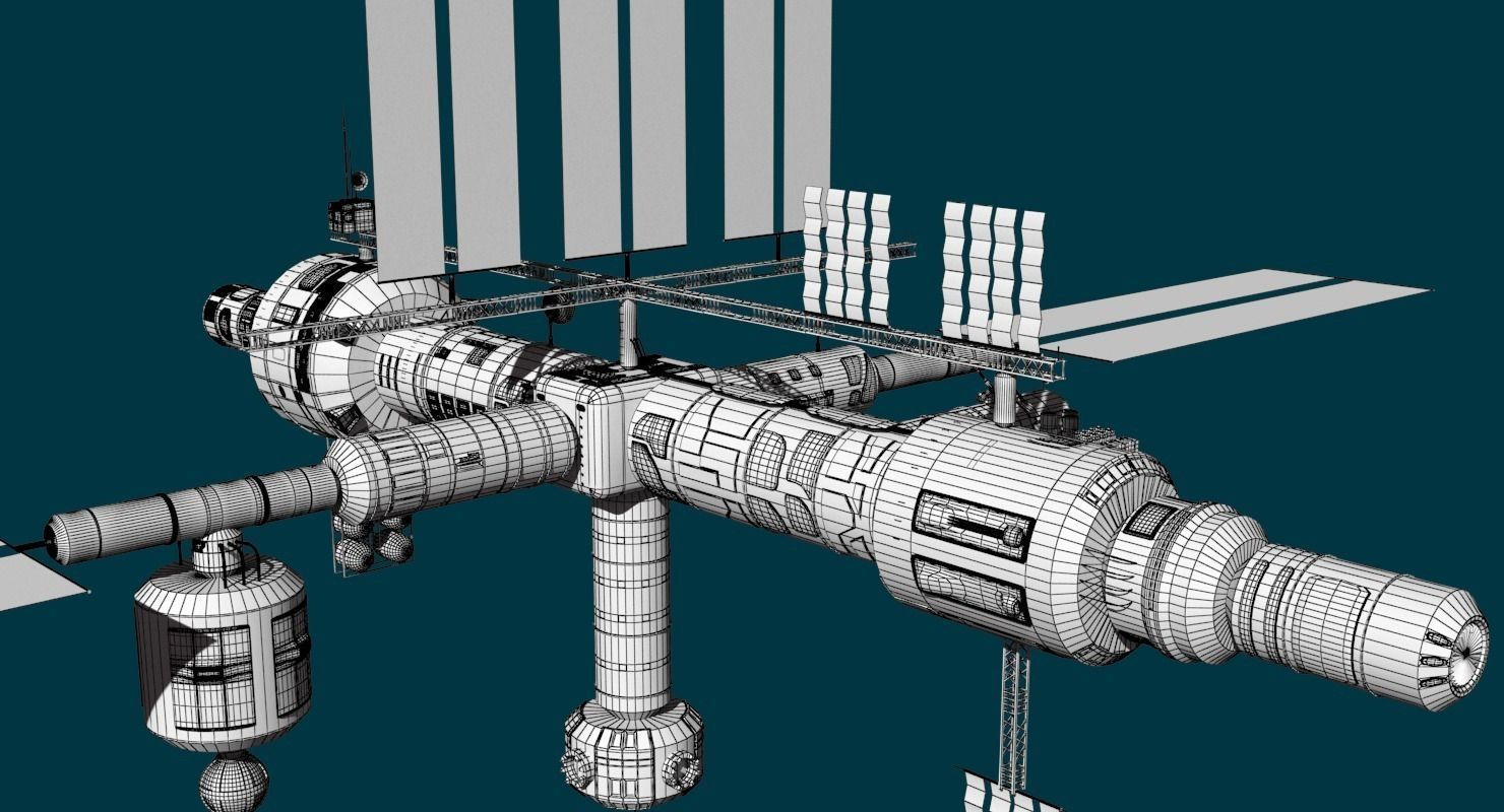 space station 3d models - photo #19