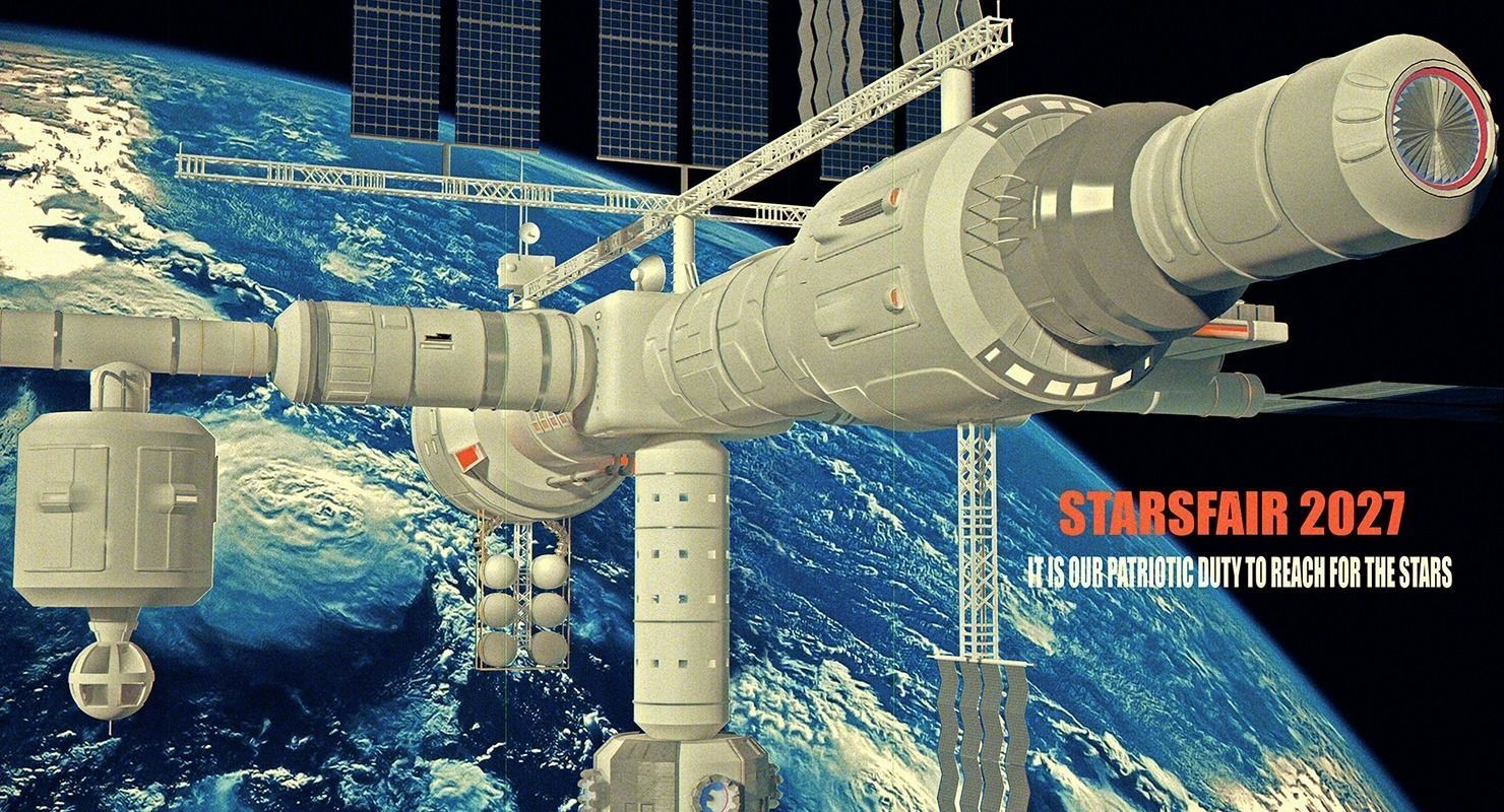 space station 3d models - photo #40