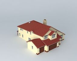 Luxury House House 3D model