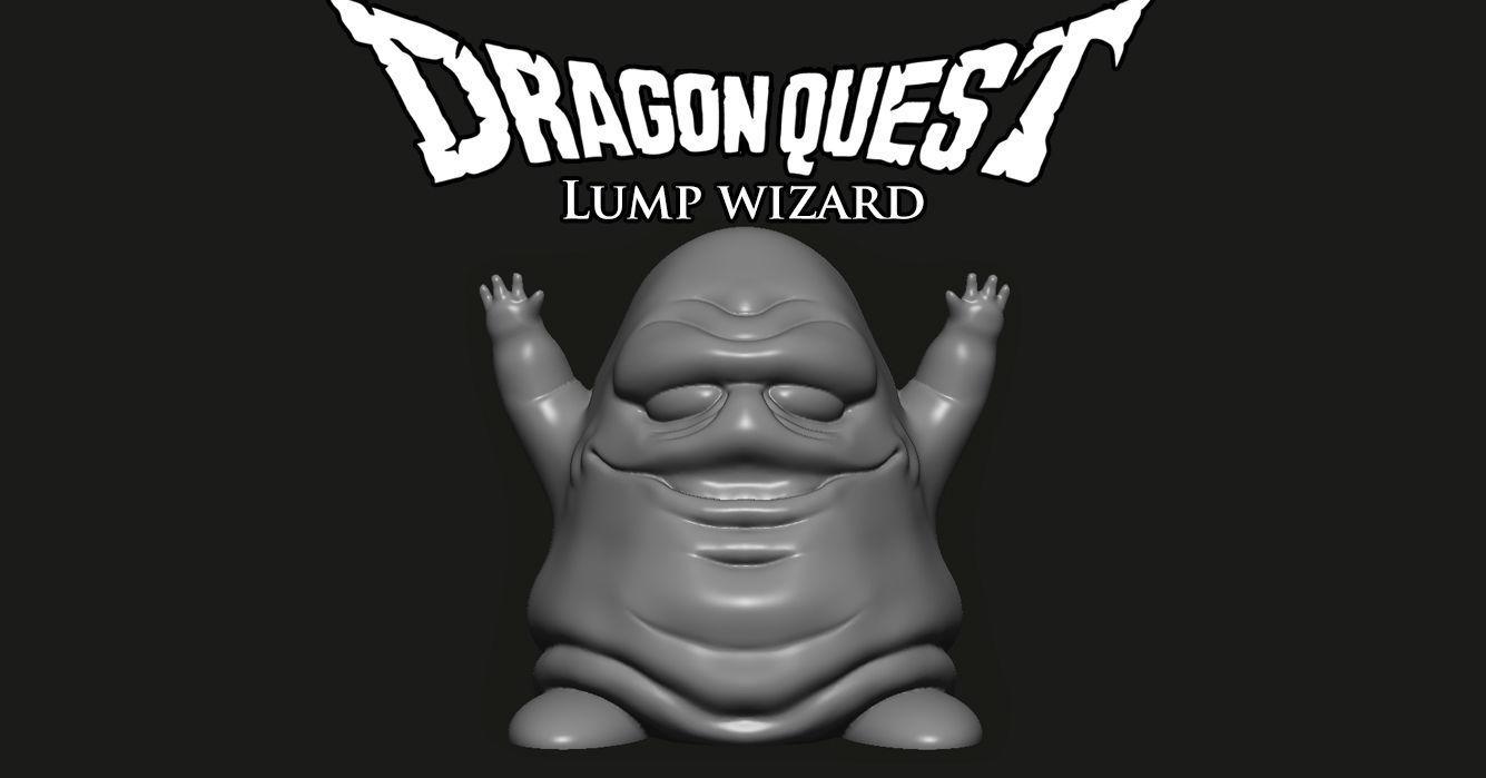 Dragon Quest - Lump wizard | 3D Print Model