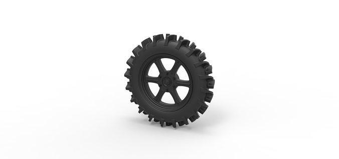 Diecast Offroad wheel 20
