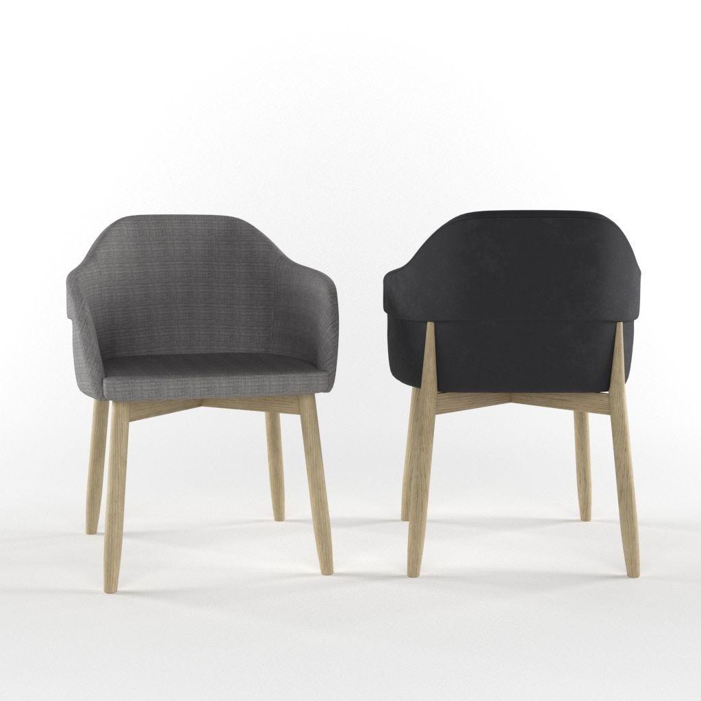 Wooden chair by Billiani