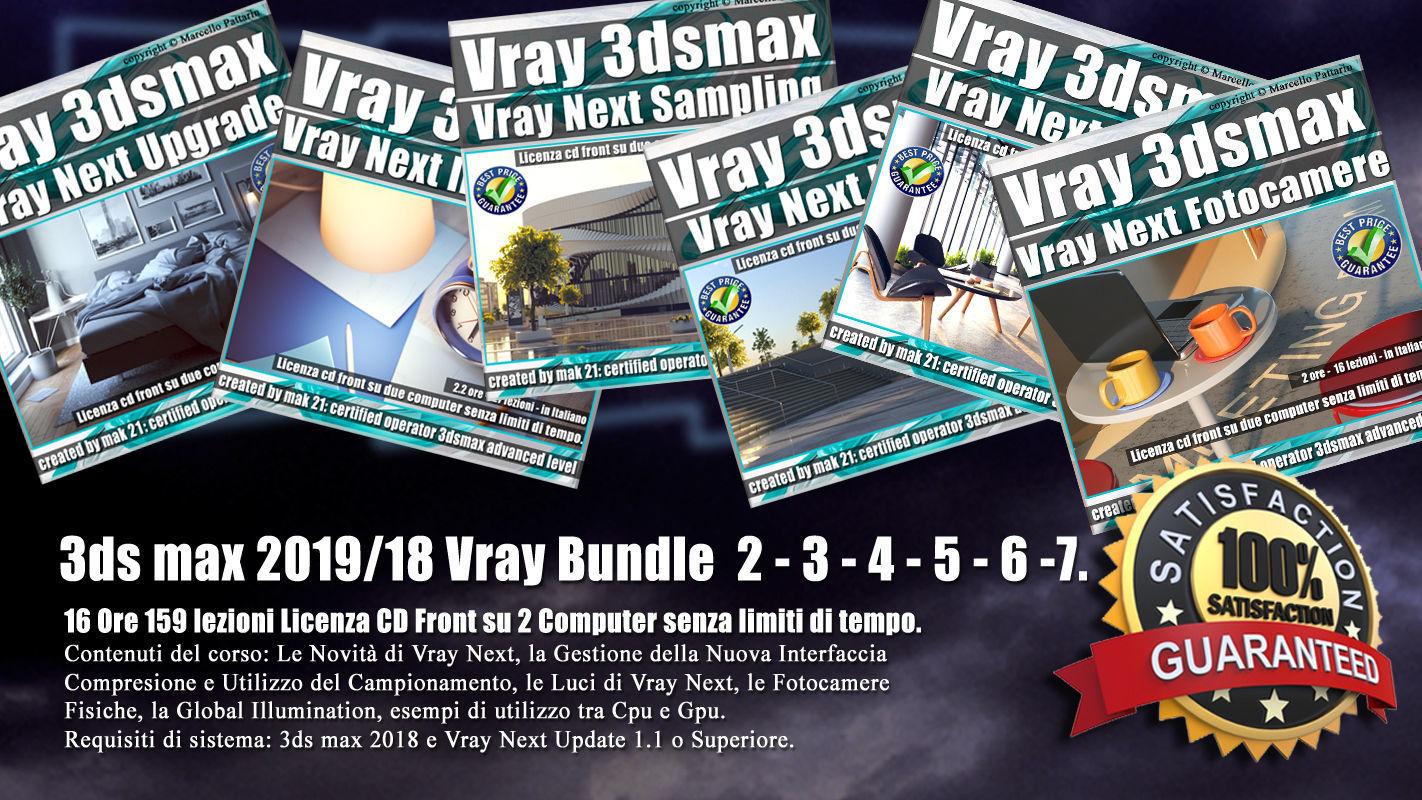 3ds max Vray Next Bundle  2 - 3 - 4 - 5 - 6 - 7