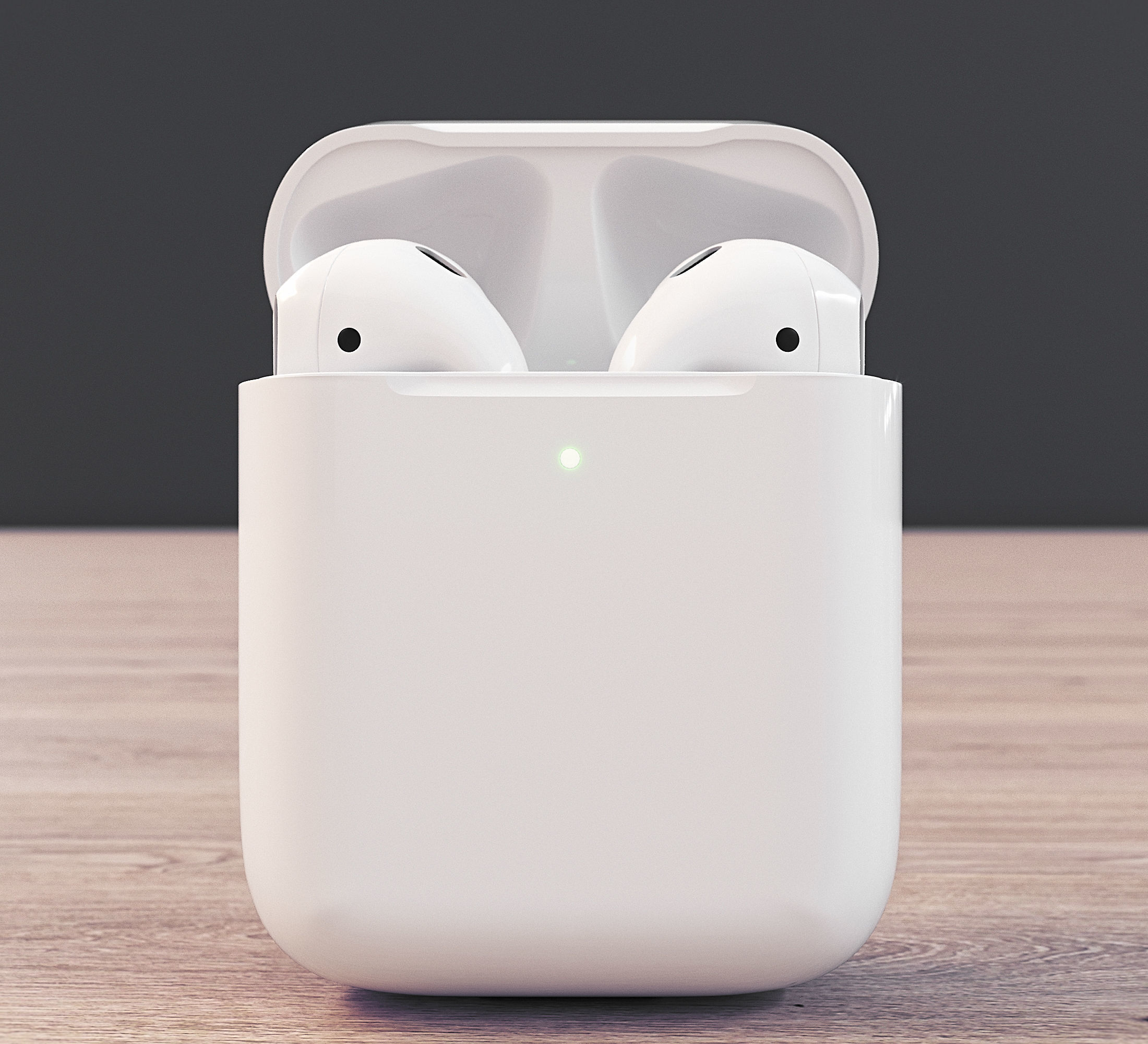 Apple Airpods 2 3d Cgtrader