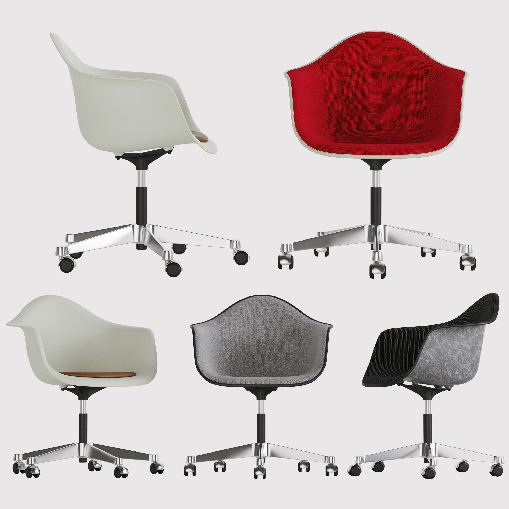 promo code 4ecb0 adc1e Herman Miller Eames Task Chairs | 3D model