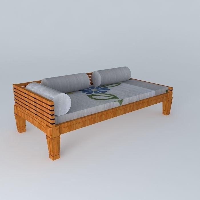 63 0 description comments 0 wooden sofa 3d model this 3d model was