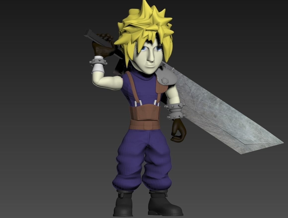 Cloud- Final Fantasy 7