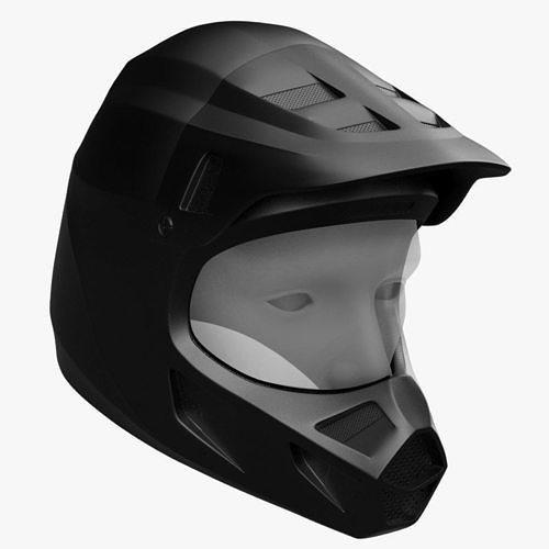racing helmet 3d model max obj mtl fbx 1