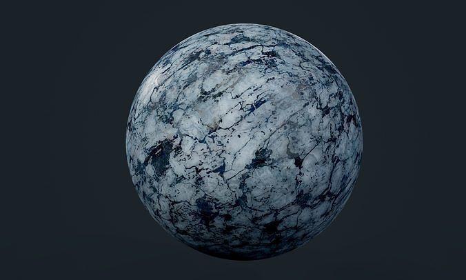 marble seamless pbr texture 34 3d model obj mtl 1