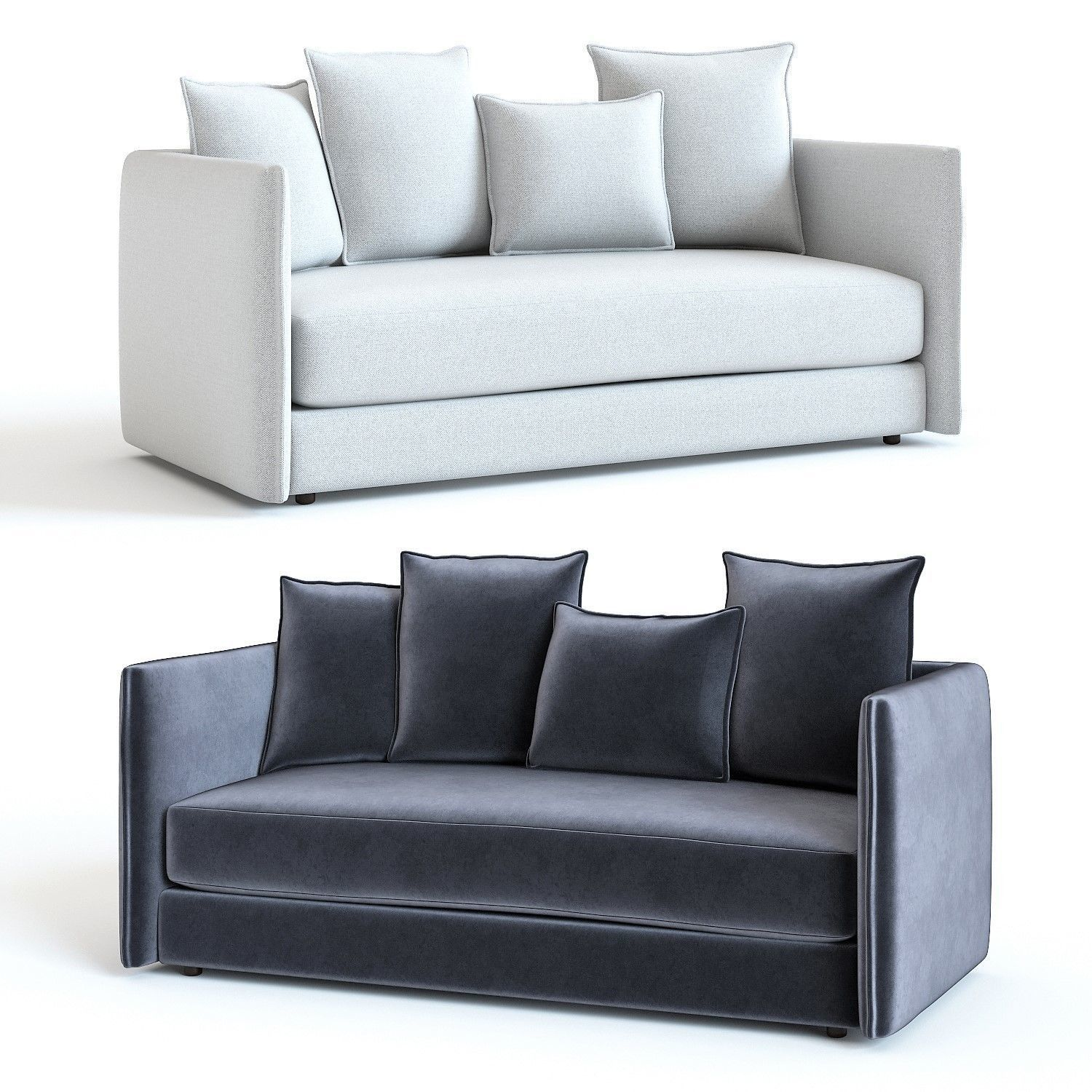Marvelous West Elm Modern Chesterfield Sofa 3D Model Gmtry Best Dining Table And Chair Ideas Images Gmtryco