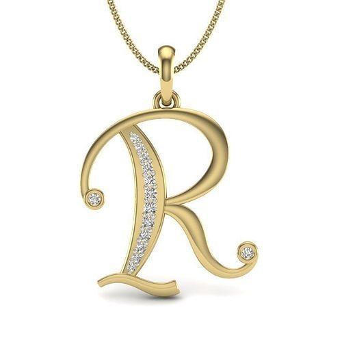 Diamond Alphabet For Ladies