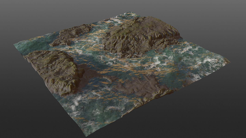 Cliff Seaside PBR