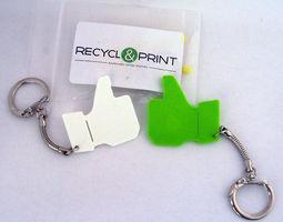 Like keychain 3D print model