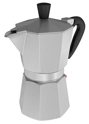 coffee maker 3d model max 1