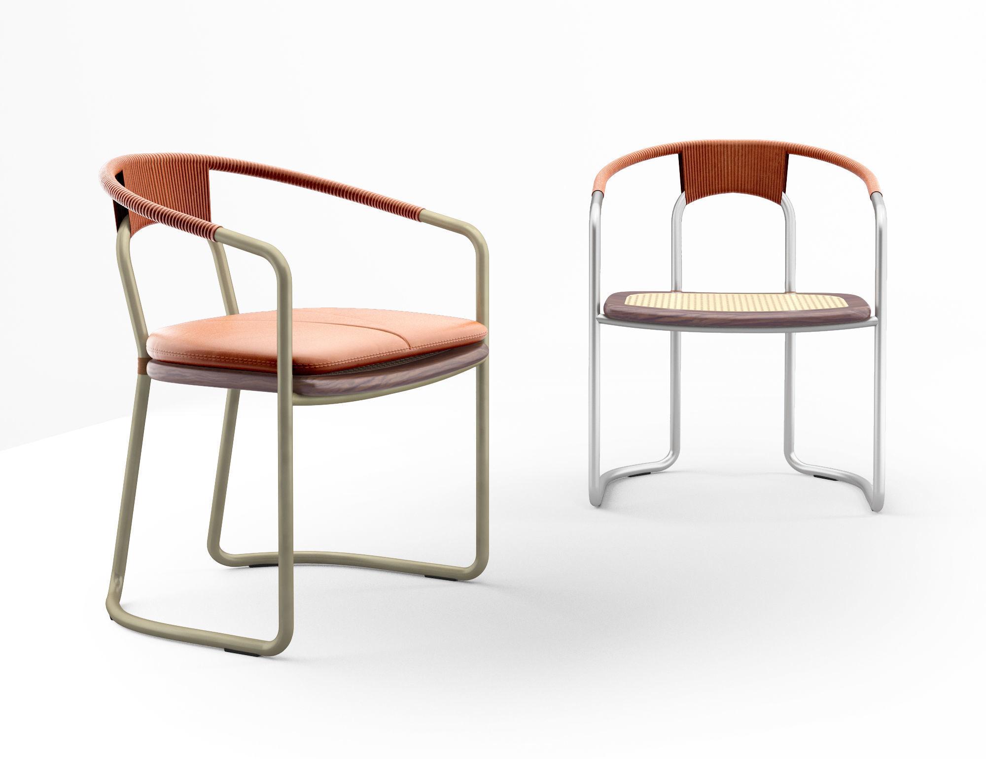 Bassam Fellows The Geometric Side Chair CB-450