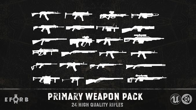 Primary weapon pack