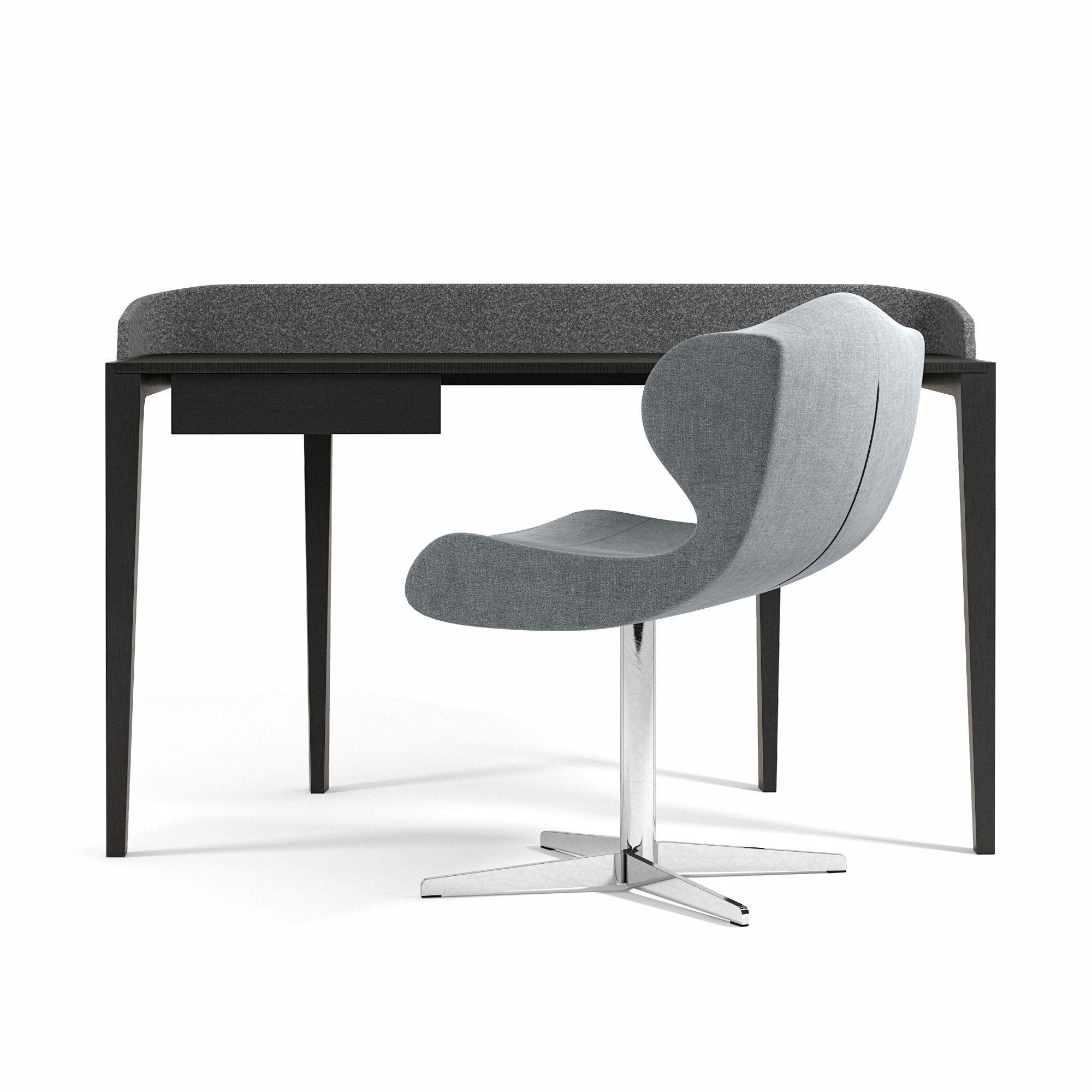 Ligne Roset Inside World Desk And Alster Chair